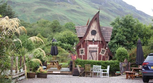 15 Ardelve crooked house, Ruth's coastal walk around Scotland