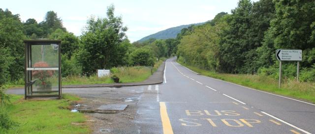 20 pavement at Nostie, Ruth's coastal walk around Scotland