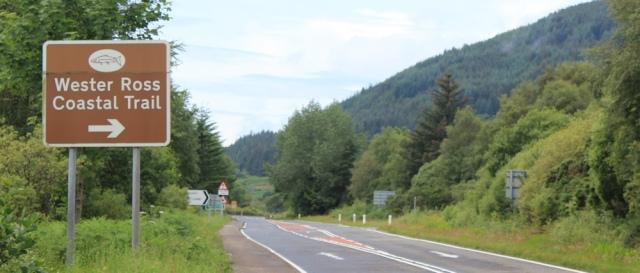 25 Wester Ross Coatal Trail, Auchtertyre, Ruth's coastal walk around Scotland