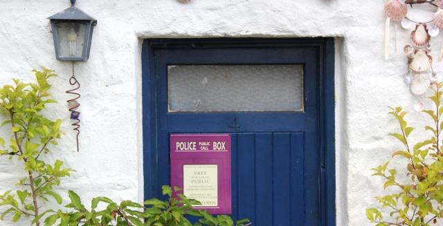 28 Police Public Call Box, Kirkton, Ruth's coastal walk around Scotland