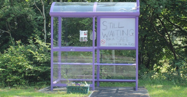 33 still waiting for a safe bus stop, Ruth's coastal walk around Scotland