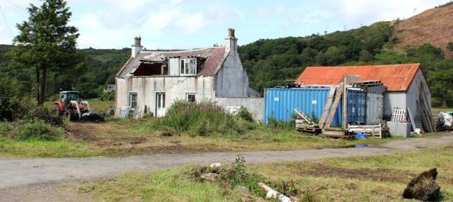 34 for development, Reraig, Ruth's coastal walk around Scotland