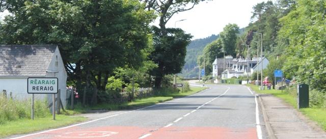 35 Reraig signpost, Ruth's coastal walk around Scotland