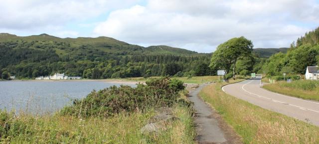 38 Balmacara Bay, Ruth's coastal walk around Scotland