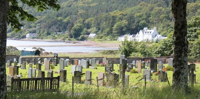 39 cemetery, Balmacara, Ruth's coastal walk around Scotland