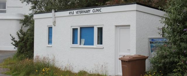 02 Kyle vet clinic, Ruth's coastal walk around the Highlands of Scotland