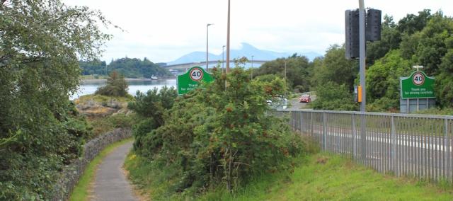 03 cycle way to Skye, Ruth's coastal walk around the Highlands of Scotland