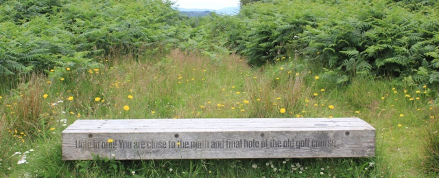 07 ninth hole of golf course, Plock, Ruth's coastal walk around the Highlands of Scotland