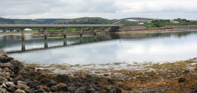 09 causeway to bridge, Plock, Kyle of Lochalsh, Ruth's coastal walk around the Highlands of Scotland