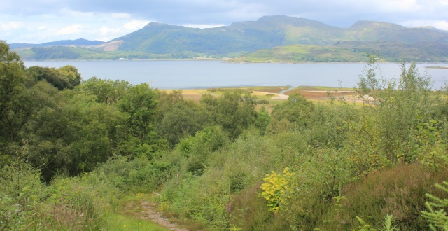 10 down the hill to Ardintoul, Ruth's coastal walk around Glenelg, Scotland
