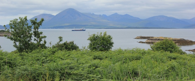 14 shipping lane, Ruth hiking to Plockton, highllands of Scotland