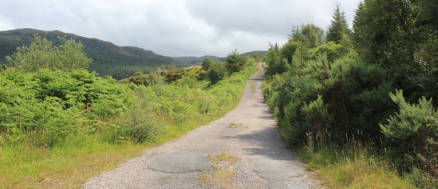 16 track to Ardintoul, Ruth's coastal walk around Glenelg, Scotland