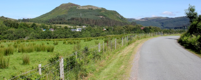 30 long road to Strome Ferry, Loch Carron, Ruth's coastal walk around Scotland