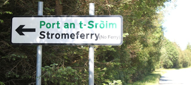 36 Strome Ferry, no ferry, Loch Carron, Ruth's coastal walk around Scotland