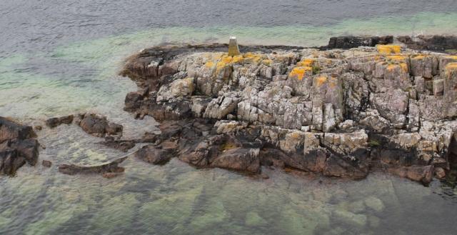 41 remote trig point, Ruth crossing Skye Bridge, coastal walk