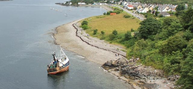 wrecked ship, Kyleakin, Ruth Livingstone
