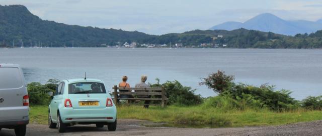01 view to Plockton from Ardaneaskan, Ruth's coastal walk around Scotland