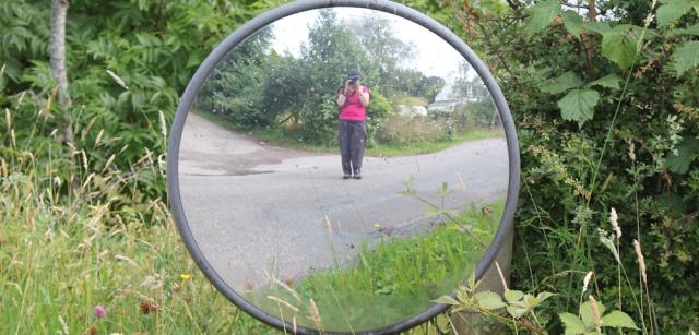 29 second self portrait of the day, Loch Carron, Ruth's coastal walk around Scotland