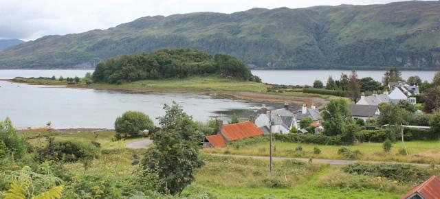 32 Slumbay Island, Loch Carron, Ruth's coastal walk around Scotland