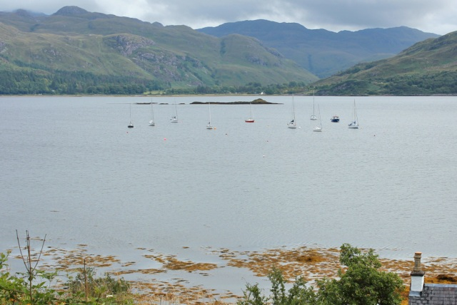 33 Sgeir Chreagach, off Lochcarron, Ruth's coastal walk around Scotland