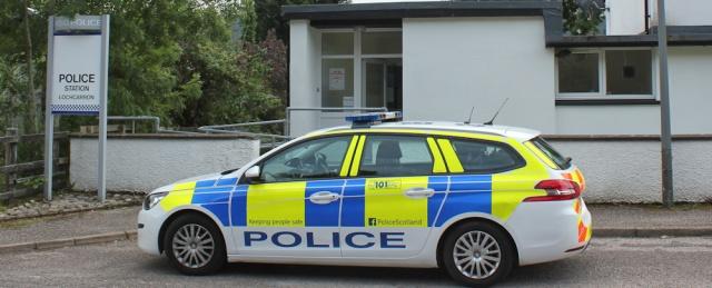39 police station, Lochcarron, Ruth's coastal walk around the UK, Scotland