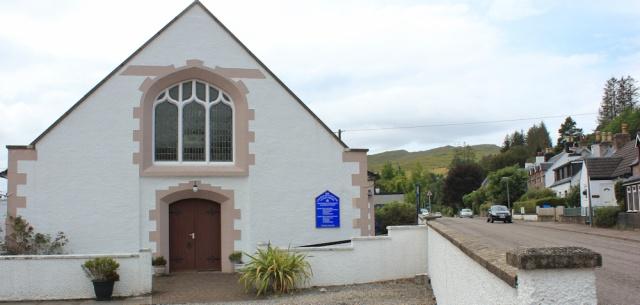 40 Church of Scotland, Lochcarron, Ruth's coastal walk around the UK, Scotland