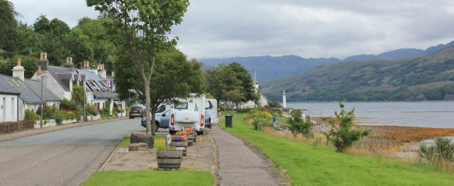41 main street, Lochcarron, Ruth's coastal walk around the UK, Scotland