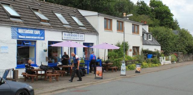 42 Waterside Cafe, Lochcarron, Ruth's coastal walk around the UK, Scotland