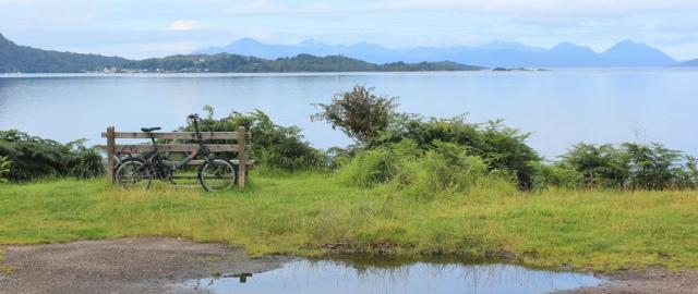 view to plockton, Ruth's coastal walk, Lochcarron