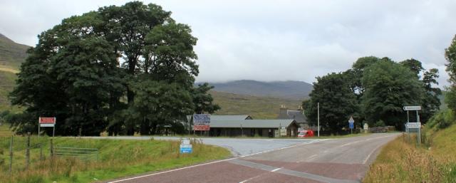 06 turnoff to Applecross, Tornapress, Ruth's coastal walk Scottish Highlands