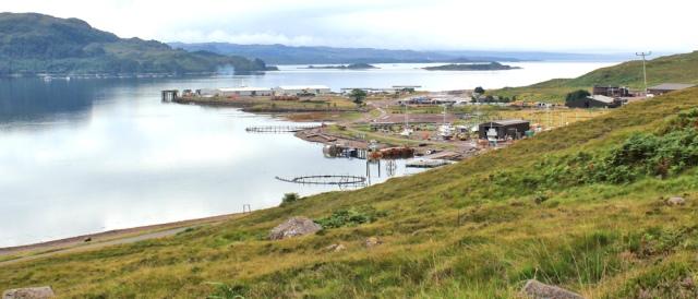 11 Loch Kishorn and fish farm, Ruth's coastal walk Scottish Highlands
