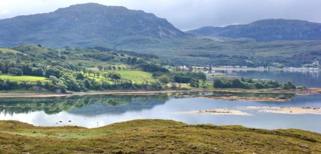 14 Ardarroch over Loch Kishorn, Ruth's coastal walk Scottish Highlands