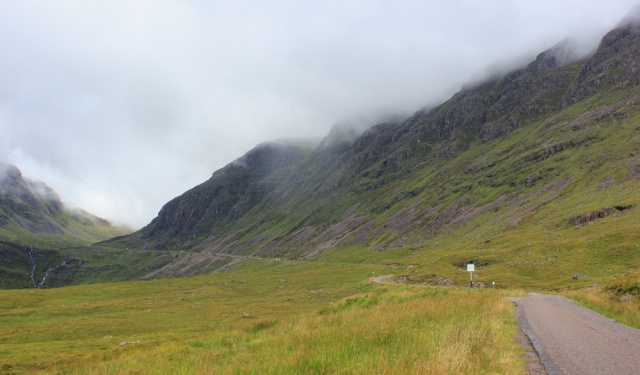 21 trudging up the valley, Bealach na Ba, to Applecross, Ruth's coastal walk Scottish Highlands