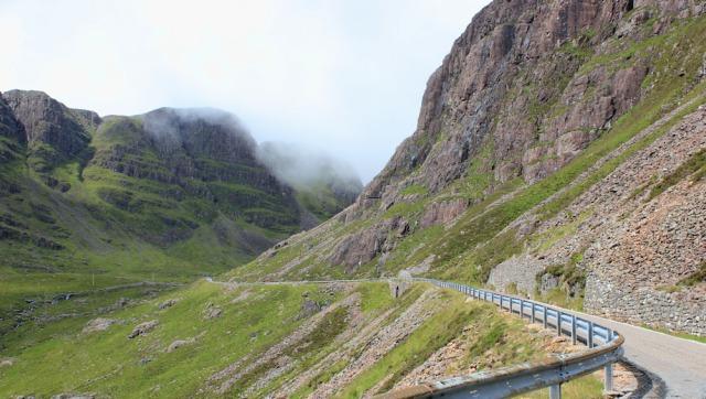 23 up into Bealach na Ba, Ruth's coastal walk Scottish Highlands