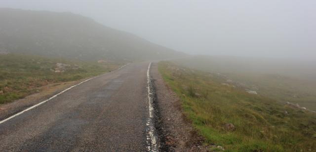 30 near the top, Applecross Pass, Ruth's coastal walk Scottish Highlands