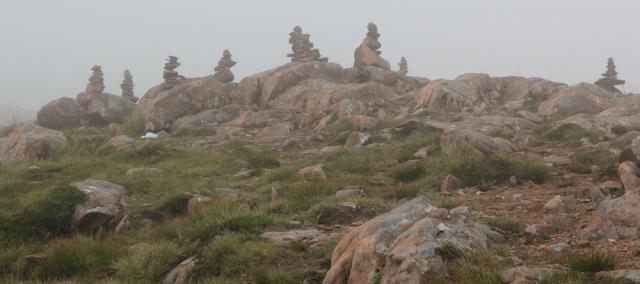 33 picnic among the rocks, top of Bealach na Ba, Ruth's coastal walk Scottish Highlands