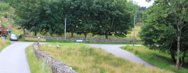 72 U bend, Ruth hiking to Applecross, Scotland