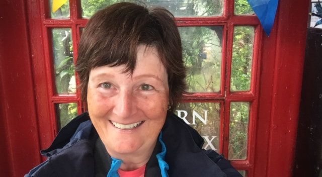 Selfie of Ruth Livingstone in Kishorn Selfie Box