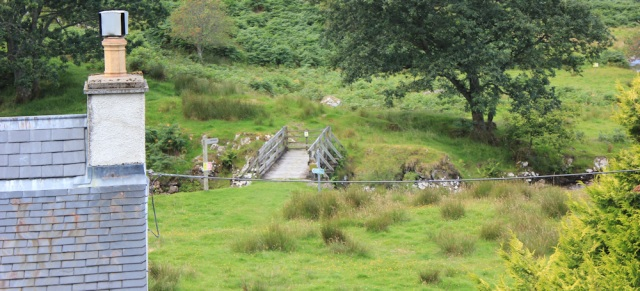 05 footbridge, Upper Toscaig, Ruth's coastal walk, Applecross Peninsula