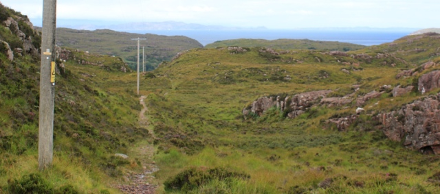 12 down the hill from Toscaig, Ruth's coastal walk, Applecross Peninsula