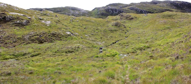 22 over footbridges, to Airigh-Drishaig, Ruth's coastal walk, Applecross Peninsula