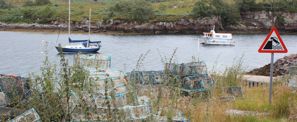 26 slipway, Ard Dhubh, Ruth walking the coast of Scotland, Applecross