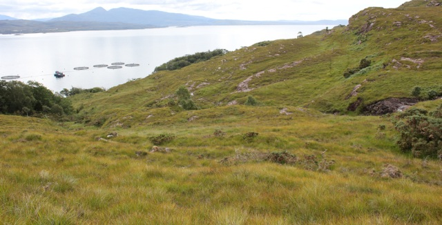 37 footpath to Uags from Airigh-Drishaig, Ruth's coastal walk, Applecross Peninsula