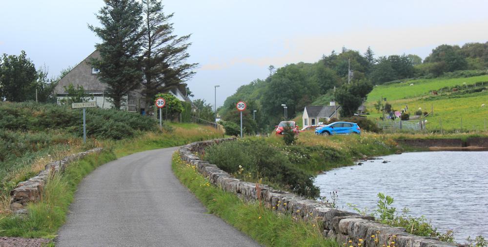 40 Milltown, Ruth walking the coast of Scotland, Applecross