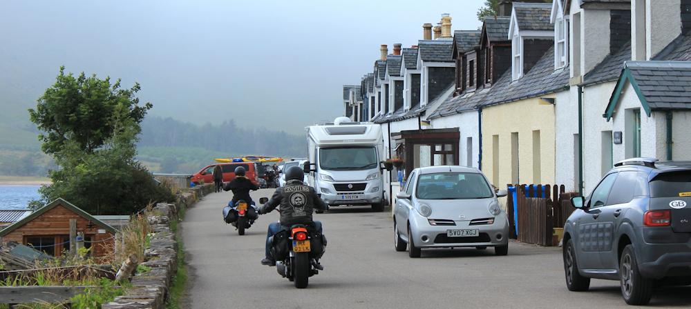 42 busy Applecross street, Ruth walking the coast of Scotland
