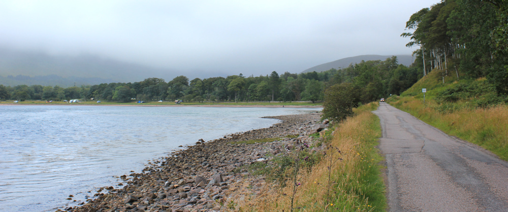 46 road around Applecross Bay, Ruth walking the coast of Scotland, Applecross