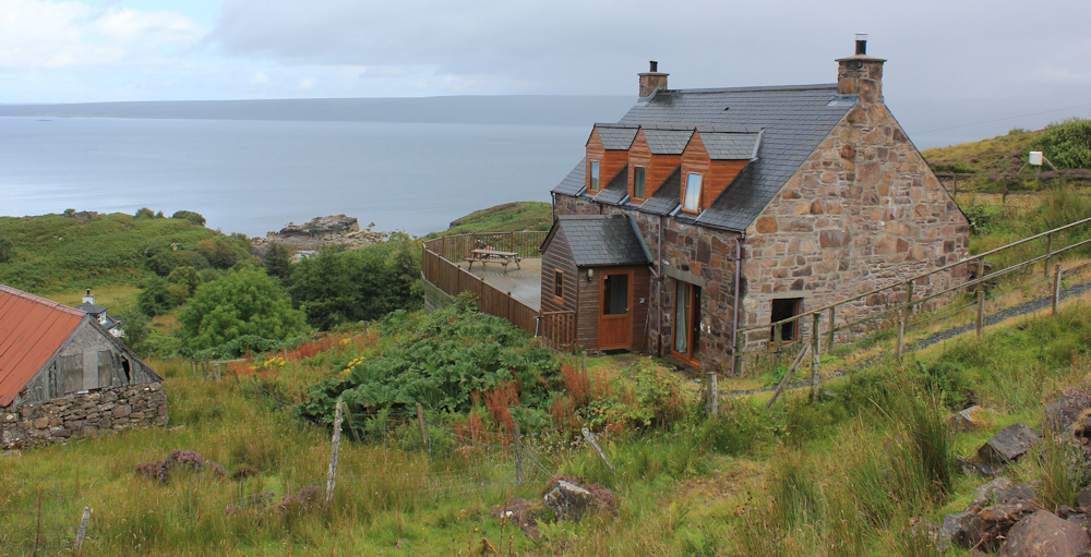 16 house with a view, Fearnmore, Ruth hiking around the north of Applecross, Scotland