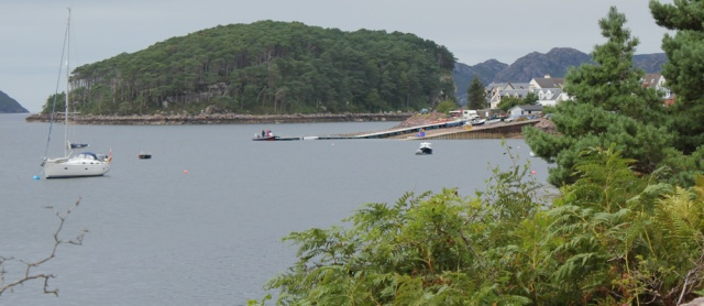 45 Shieldaig Island, Ruth hiking the coast, Wester Ross, Scotland