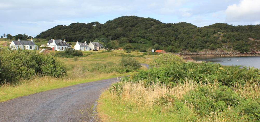 kenmore, ruth's coastal walk around the Applecross Peninsula, Scottish Highlands