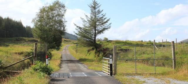 03 over the cowgrid, Ruth walking across the Morvern Peninsula, Scotland